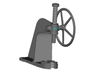 Mandrel Press with Flywheel